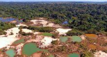 Garimpo Desmatamento Amazônia Meio Ambiente Mineração