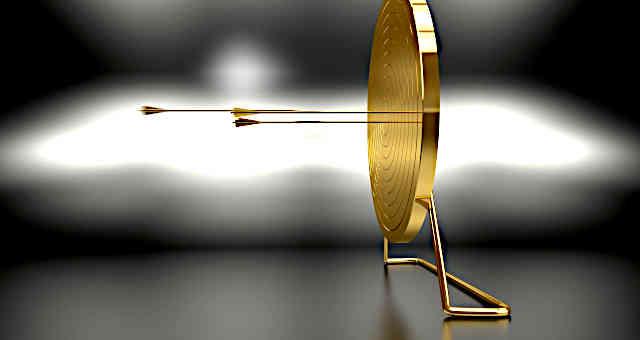 alvo, flecha, meta, sucesso, conquista, ouro, riqueza, valor, objetivo