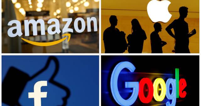 Amazon, Facebook e Google