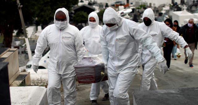 Brasil ultrapassa marca de 95 mil mortes por Covid-19 – Money Times
