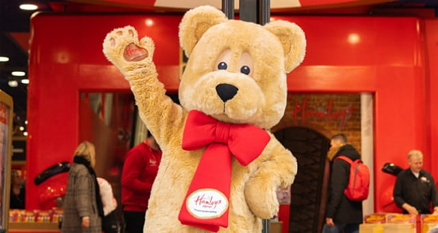 Hamley Bear-Hamleys of London