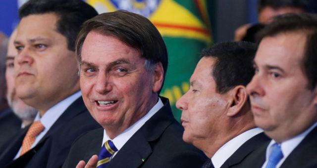 Jair Bolsonaro e Maia