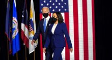 Kamala Harris e Joe Biden
