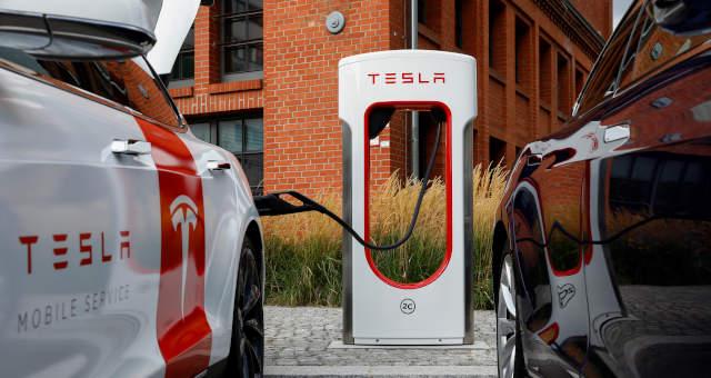 TSLA Tesla Carro Elétrico Bateria