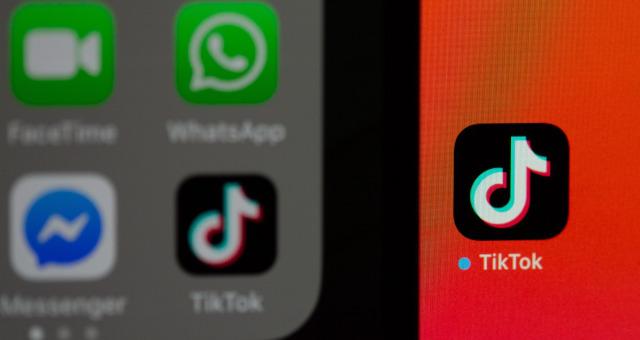 TikTok Aplicativo Redes Sociais