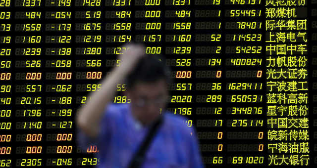 Mercados Ásia Xangai