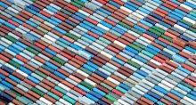 Exportações Portos Contêineres