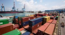 Santos Brasil Exportações Contêineres Portos