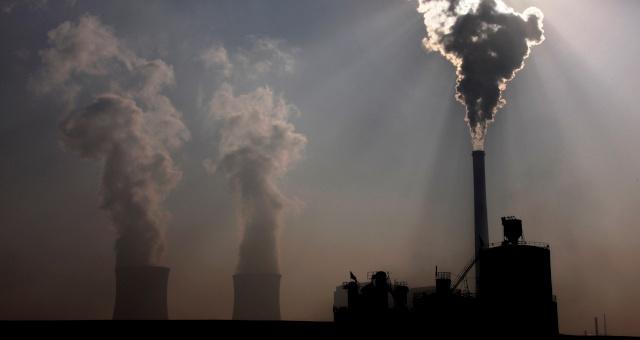 Poluição Indústria Aquecimento Global Efeito Estufa
