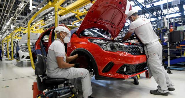 Indústria Fábricas Setor Automotivo Carros