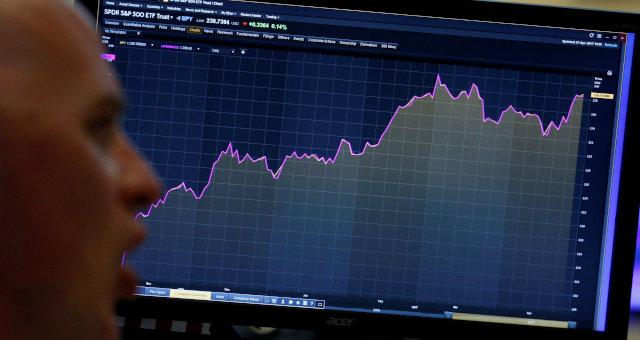 S&P 500 Ações Nyse Wall Street Mercados