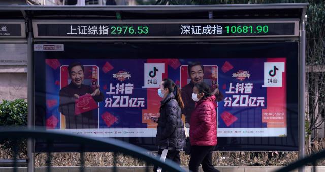 Mercados Ásia Xangai Ações
