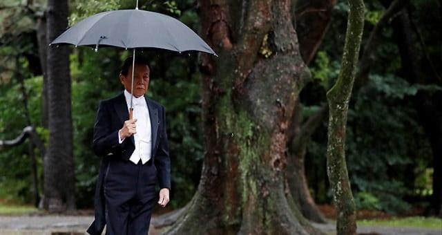 Ministro das Finanças do Japão, Taro Aso
