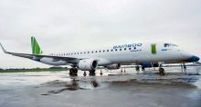 Bamboo Airways, jato E195 da Embraer