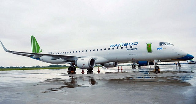 Bamboo Airways, jato E195 da Embraer