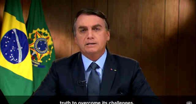 Bolsonaro abertura assembleia ONu