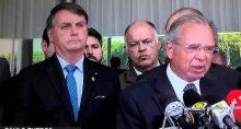 Bolsonaro e Guedes anunciam Renda Cidadã