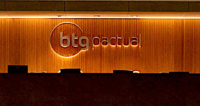 Recepção do BTG Pactual