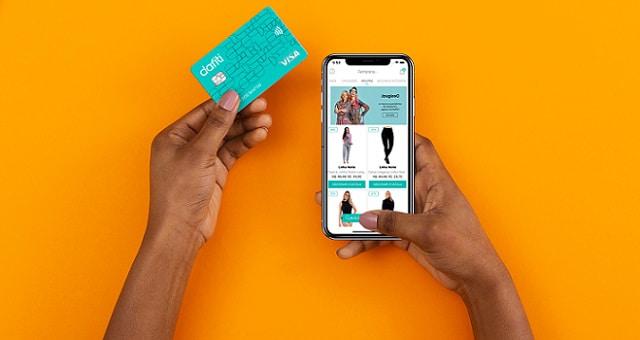 Cartão de crédito Dafiti