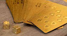Cartas, baralho, jogo, ganhos, lucros, retorno, valorização