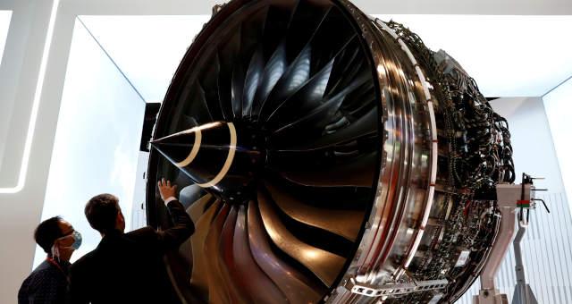 Motor da Rolls Royce