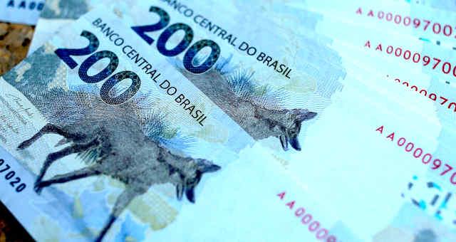 Nota de 200 reais R$ 200