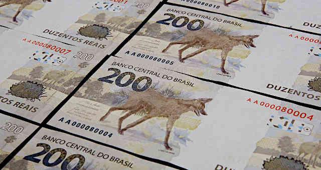 Brasília, 02/09/2020. O Banco Central (BC) lançou nesta quarta-feira (02/09) a nova nota de R$ 200,00 com a imagem do lobo-guará.