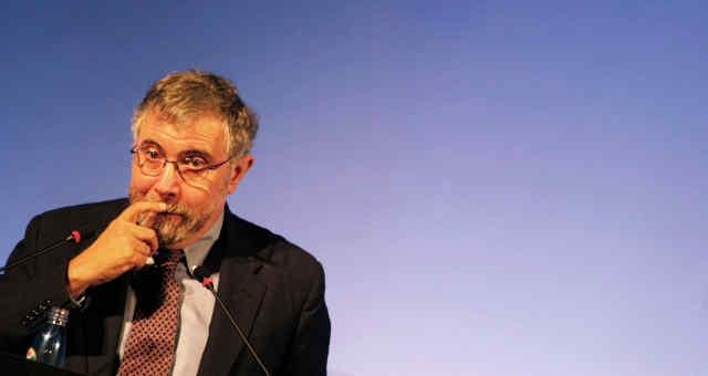 Economista norte-americano Paul Krugman fala em evento em São Paulo 14/09/2012
