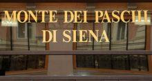 Placa do banco Monte dei Paschi em Roma