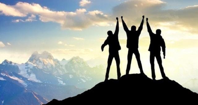Sucesso, Comemoração, Equipe, Trabalho, Negócios, Governança