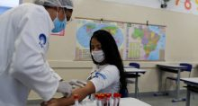 Educação Escolas Coronavírus Testes