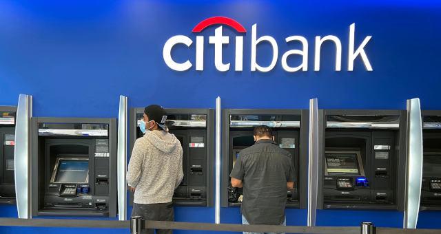 Citibank Bancos Caixa Eletrônico