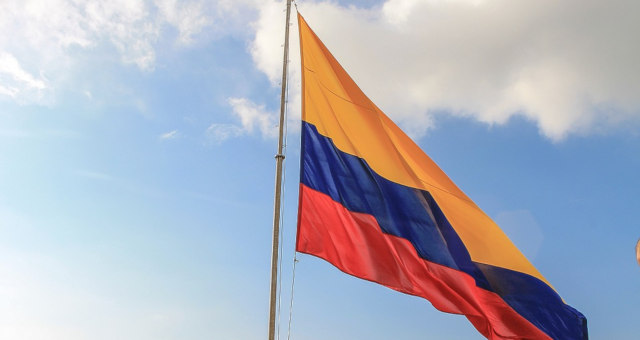 Colômbia Bandeira