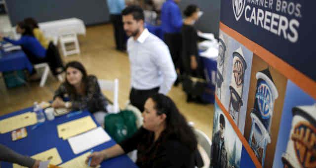 Feira de emprego em Burbank, Los Angeles