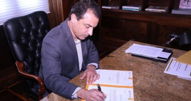 Governador de Santa Catarina Carlos Moisés da Silva