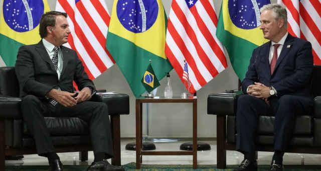 Jair Bolsonaro-EUA