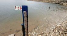 Lago da hidrelétrica de Furnas