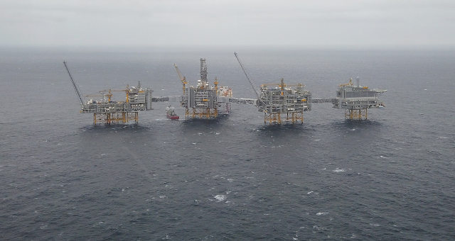 Plataforma Petróleo Noruega
