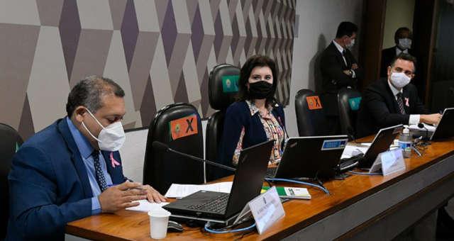 Senado CCJ Simone Tebet Rodrigo Pacheco e Kassio Nunes