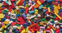 Peças, Lego, Brinquedos