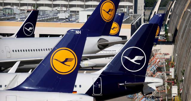 Lufthansa Aviões