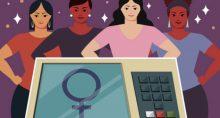 Eleições Urnas Mulheres