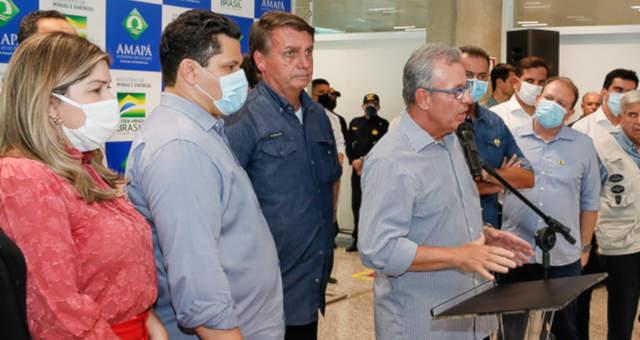 Davi Alcolumbre Jair Bolsonaro Bento Albuquerque