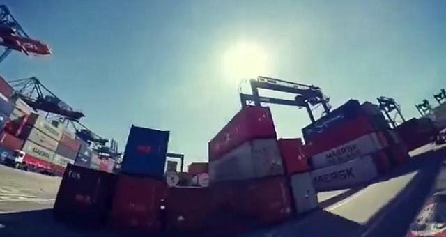 Exportações, Portos, Santos Brasil