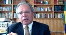 Paulo Guedes, ministro da Economia, no evento Investidor 3.0, da Empiricus e da Vitreo