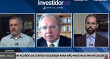 Paulo Guedes, ministro da Economia, no evento Investidor 3.0, promovido pela Empiricus e pela Vitreo