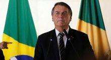 Presidente Jair Bolsonaro durante evento em Brasília