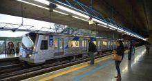 Estação Sumaré da linha verde do metrô de São Paulo.