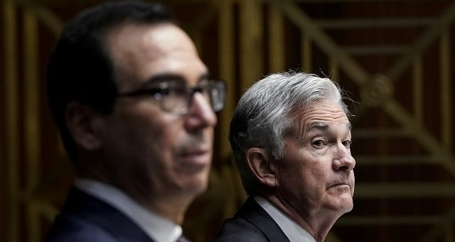 Steven Mnuchin, e o chair do Fed, Jerome Powell