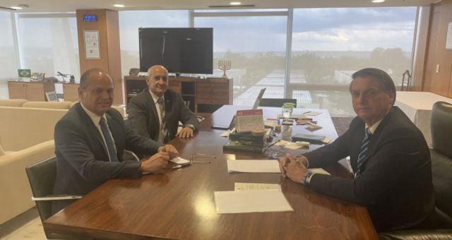 Ricardo Barros Bolsonaro e ministro Ramos